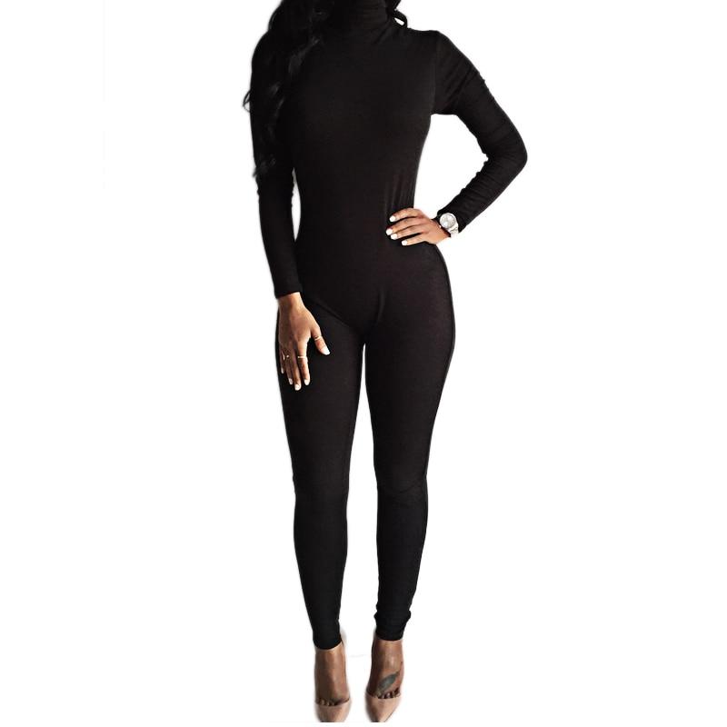 2016 New Arrival Sexy Black Bodysuit Bodycon Rompers ...