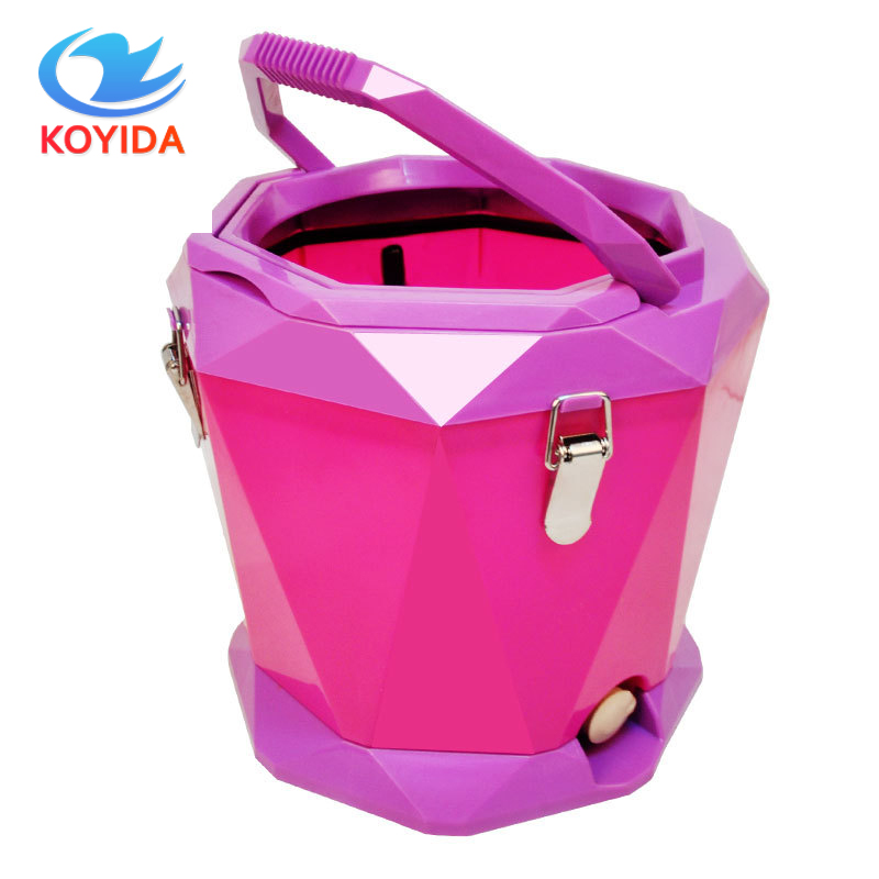 KOYIDA 360 Rotating <font><b>Mop</b></font> Bucket Hand Pressure Spinning <font><b>Mop</b></font> With Free Microfiber <font><b>Mop</b></font> Pads Household Floor Cleaning Accessories