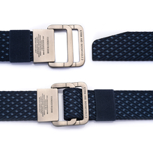 Unisex High Quality Double Ring Buckle Canvas Belt