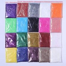 5g Nail Powder Shimmer Glitter for Nail Art DIY Decorations Red Silver Gold UV Gel Varnish Nail Tips Pigment Dust