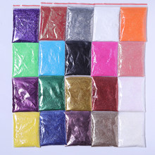 5g Nail Powder Shimmer Glitter for Nail Art DIY Decorations Red Silver Gold UV Gel Varnish Nail Tips Pigment Dust(China)