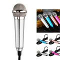 New Gadgets Portable Mini Microphone Studio Speech karaoke Microphone For iPhone For Samsung Android Smart Phone