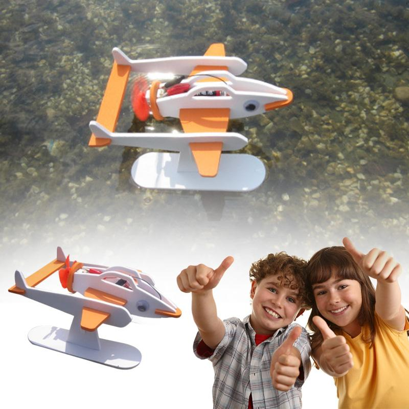 High Quality DIY Technology Invention Electric Flying Fish Robot Assembly Model Kit Assembling Model Puzzle For Chidren