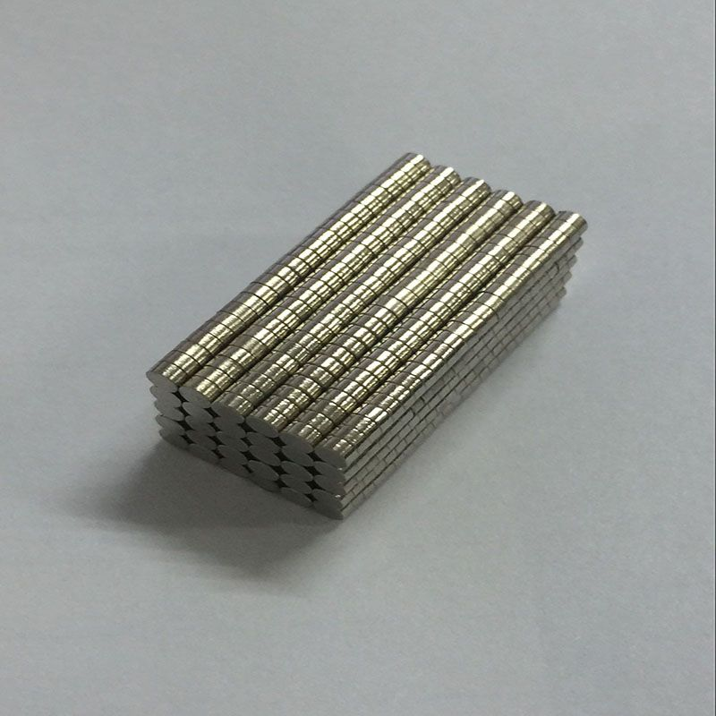 Mini 2x1 mm N50 Permanent Strong Neodymium NdFeB Magnet Bulk Magnets Aimant 200 Pieces/lot