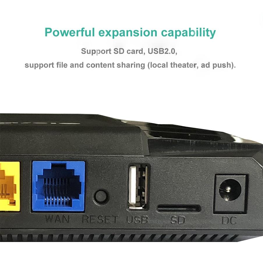 Wifi 4g routeur avec sim fente pour carte 4g Routeur Wi fi Point D'accès Extérieur 4x10/ 100/1000 Mbps 802.11ac Wifi Répéteur 2.4g/5 ghz