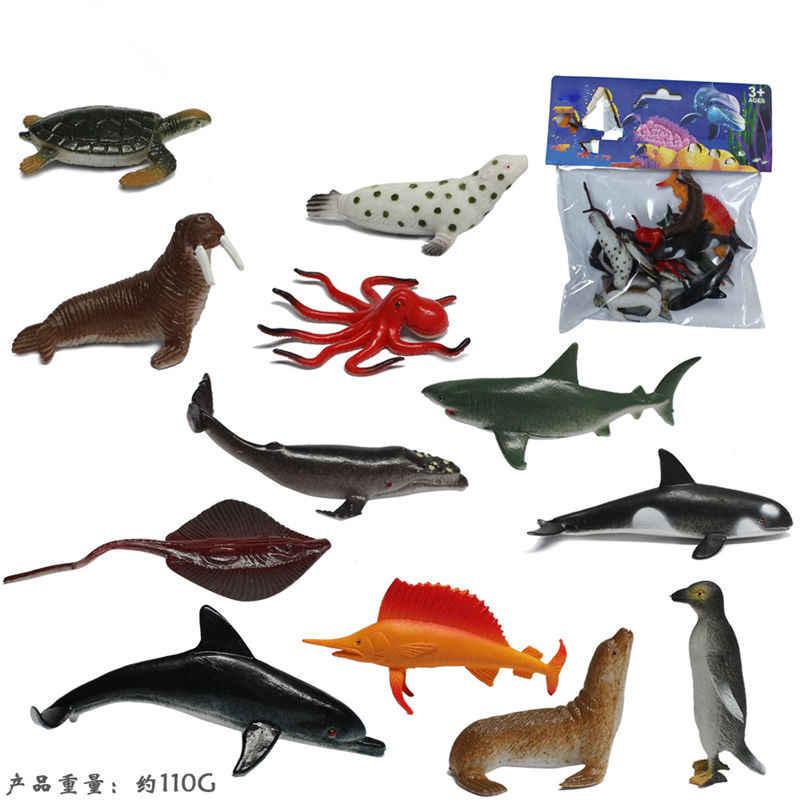 12 pçs/set Inseto modelo figuras brinquedos figuras de plástico Simulação Barata aranha besouro gato Macaco Cavalo Animal do jardim zoológico Boneca de Presente