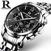 New Top Brand Luxury Fashion Watch Men Multi Functional Japan Imported 6 Pin Waterproof Watches Reloj
