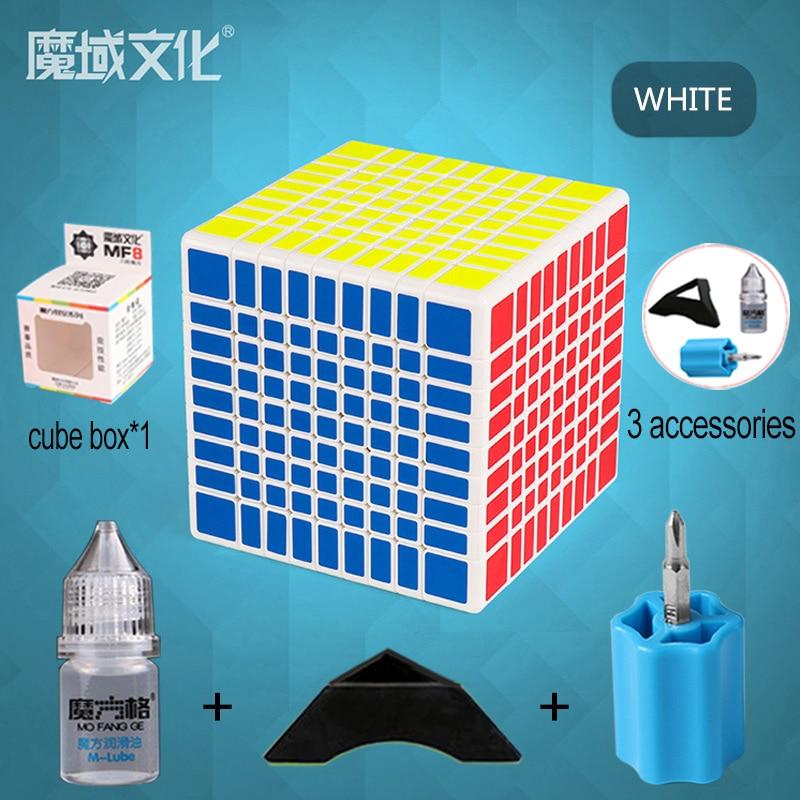 Konfon Semelle MOYU MF9 9x9x9 75 MM Cube magique 5 pièces Costume Neo Cube Adulte Enfants jouet éducatif d'anniversaire Festival Cadeau - 6