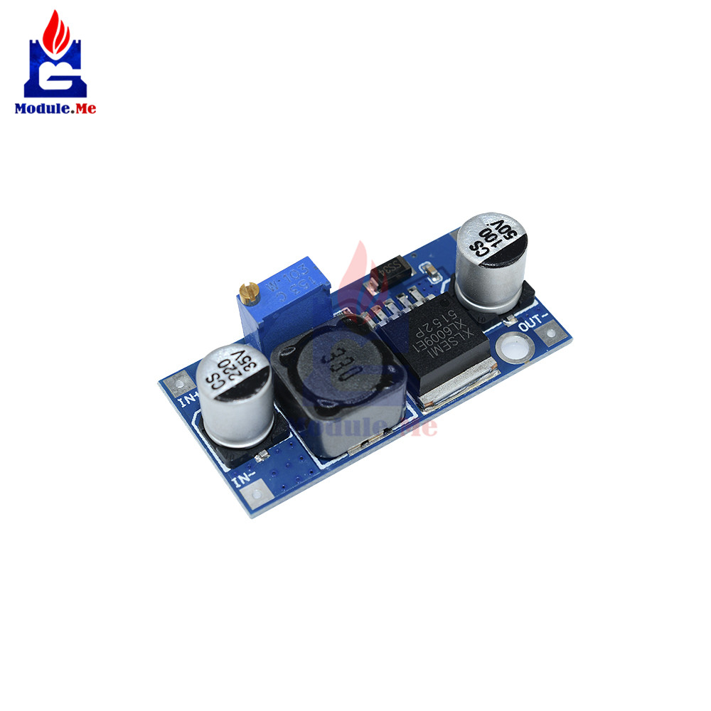 diymore XL6009 Non-<font><b>isolated</b></font> DC-DC 3-12V to 12-24V Adjustable <font><b>Power</b></font> Supply Boost <font><b>Power</b></font> Converter <font><b>Module</b></font> <font><b>Module</b></font> Replace LM2577 image
