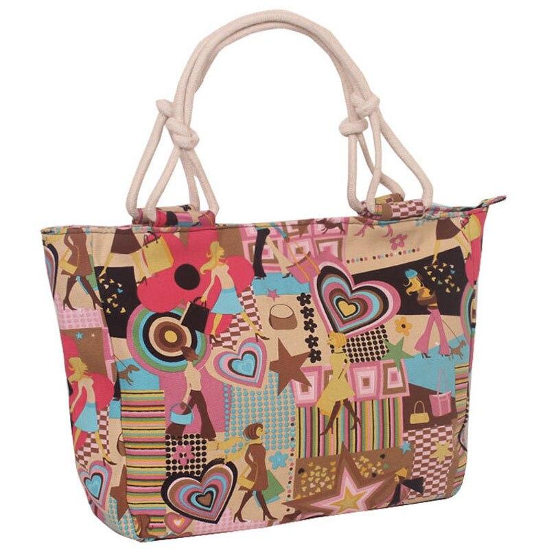 Hot Women Canvas Hand Shoulder Messenger Bags Canvas Shopping Bag Women Bags Designer Bolsa Feminina