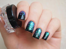 Iridescent mermaid flakes  Nail art nail for decorations/ supplies/ 5Colors