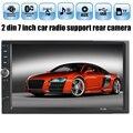7 Дюймов Car Audio Стерео MP4 MP5 Плеер Bluetooth TFT Экран Dual Core 12 В Авто 2-Din Поддержка AUX FM USB SD MMC С Сенсорным Экраном