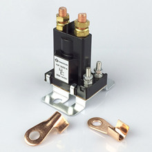 цена на 12V 24V 200A high power high current relay DC contactor modified switch with copper terminal