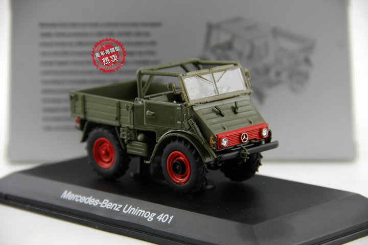 1//43 Scale Mercedes Benz Unimog 1953 Diecast car Model Toy Collection Gift