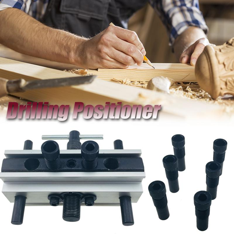 50mm Round Wood Dowel Drilling Positioner Woodworking Tools Doweling Holes Vertical Clamping Tool Drill Sleeve Accessaries50mm Round Wood Dowel Drilling Positioner Woodworking Tools Doweling Holes Vertical Clamping Tool Drill Sleeve Accessaries