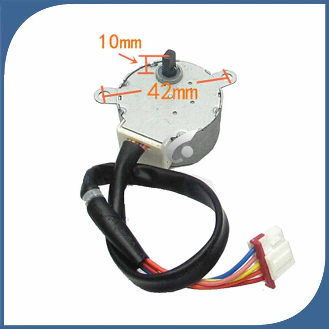 US $12 74 9% OFF| good working for Air conditioner Stepper Motor step  MP35XX 35BYJ46 12v 5 Wire Stepper Motor-in Air Conditioner Parts from Home