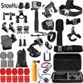 Аксессуары snowhu для Gopro набор наплечных ремней крепление для Gopro Hero 8 7 6 5 4for SJ4000 для xiaomi yi 4k для камеры H9 GS51