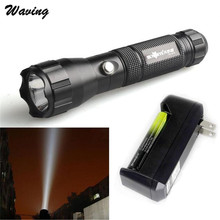Bicycle Light With 18650 Rechargeable Battery+Charger Cycling Bike Head Front Light 2017 New CREE  LED Flashlight Set Jan 19