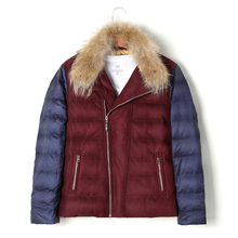 90% White Duck Down Coats Winter Jacket Men Coat Thick Parka Mens Real Fur Jackets Coat Mans Casual Parkas Outwear Overcoat 2017