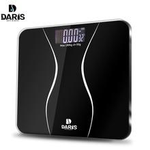 SDARISB ванная комната весы пол средства ухода за кожей Smart Электрический цифровой Вес здоровья БАЛАНС закаленное стекло ЖК дисплей 180 кг/50 г