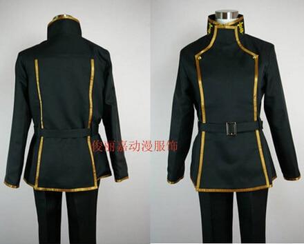 Free shipping Athemis Ashford Male School Uniform Code Geass Cosplay Costumes