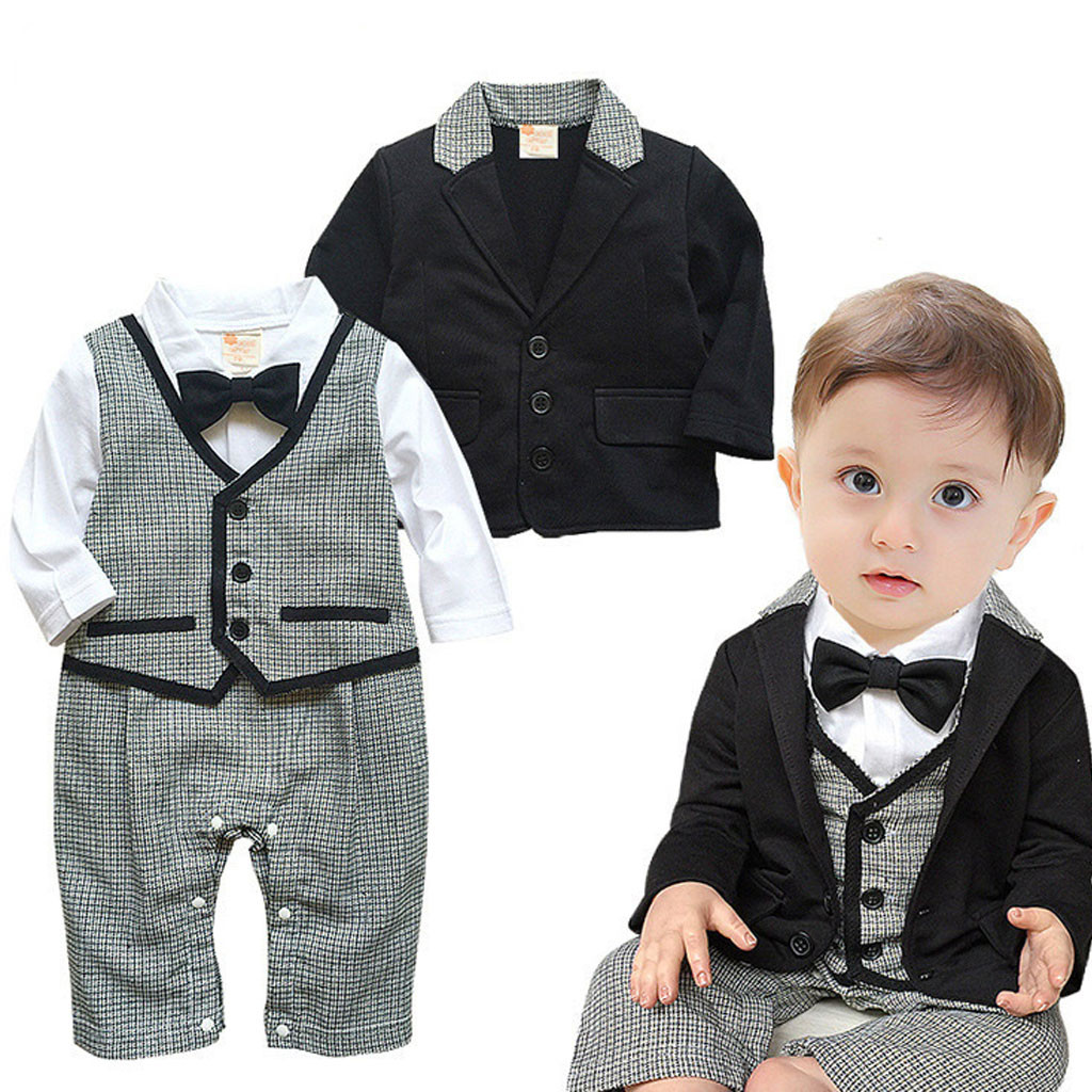Children Clothes Sets Toddler Baby Boy Outfits Casual Vest ...
