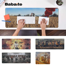 Babaite New Arrivals PUBG Locking Edge Mouse Pad Game Rubber PC Computer Gaming mousepad