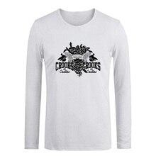 Punk Crooks And Castles Graffiti Art T Shirt Men's Women's Girl's Boy's Tshirt Long Sleeve Cotton T-shirt Fitness Spring Autumn