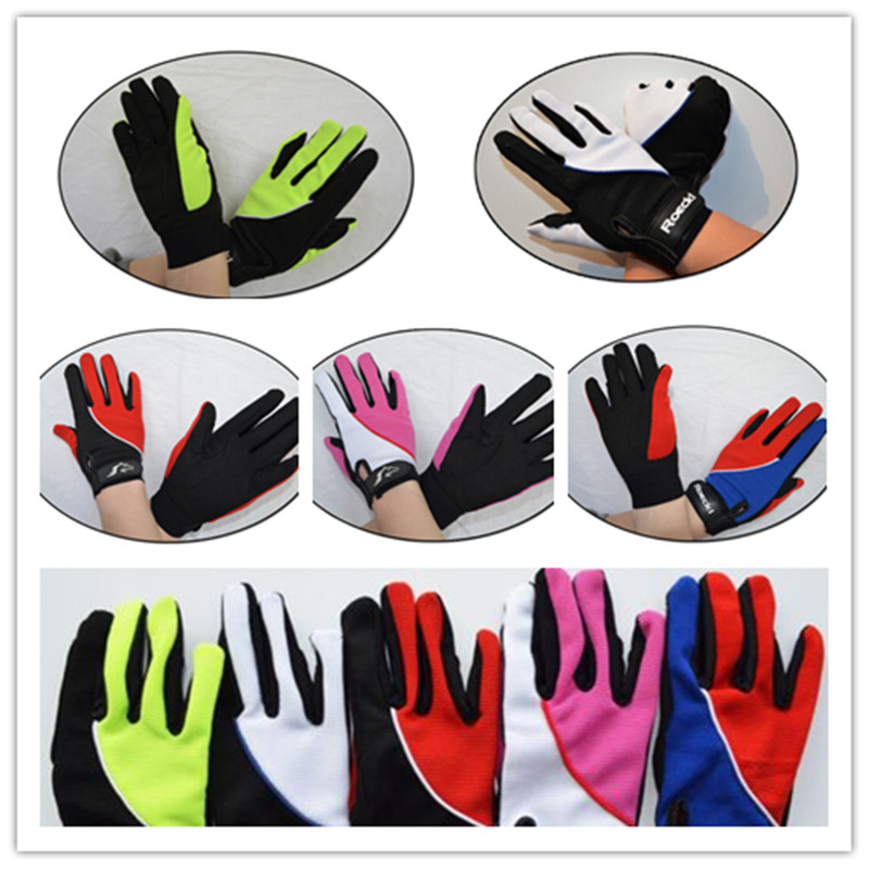 Horse Riding Gloves Equipment Anti-skip Anti-slip Thicken Durable Assorted Colors For Kids/Women