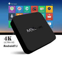 Set Top Box MXQ 4K HD TV BOX Quad Core 1GB 8GB Android 7 1 Streaming