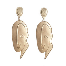The new earrings sell hot style Eccentric stud Sad eardrop girl accessories