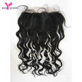 "Malaysian Virgin Human Loose Wave Hair Lace Frontal Closure 13""x4"" With Cheap Ear To Ear Lace Frontal With Baby Hair"