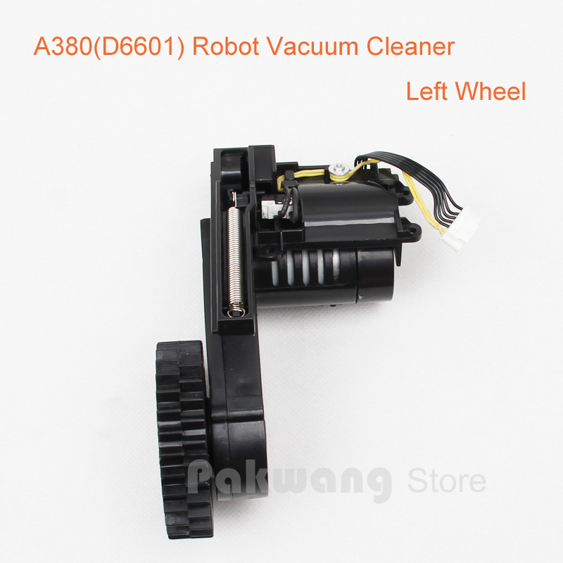 Original A380 Left wheel 1 pc Robot vacuum cleaner parts supply from factory a320 left wheel robot vacuum cleaner spare parts