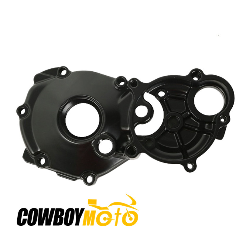 Motorcycle Black Parts Engine Crankcase Starter Cover For Suzuki GSX1300BK B-KING 1300 1999 - 2013 10 11 Aluminum jiangdong engine parts for tractor the set of fuel pump repair kit for engine jd495