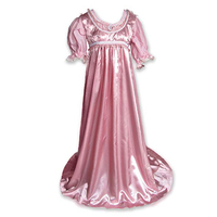 Cosplaydiy Custom Made Regency Jane Austen Style Ball Gown Costume Adult Victorian Gown Dress L320
