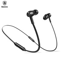 Baseus Magnetic Auriculares Bluetooth Earphone Headphone With Micorphone 4 1 Wireless Bluetooth Headset For IPhone Android