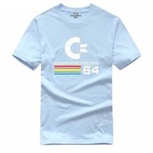 2017 Summer Commodore 64 T Shirts C64 SID Amiga Retro 8-bit Ultra Cool Design Vinyl T-shirt Mens Clothing With Short Sleeve