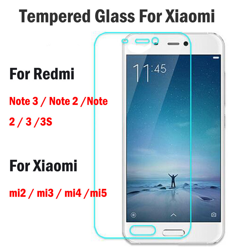 ON SALE ! NEW ARRIVING For Xiaomi Redmi Note 4 Tempered Glass Ultra Thin Clear Screen Protector Glass Film For Redmi Note 4