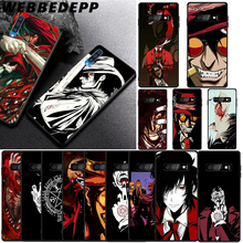 WEBBEDEPP Anime Hellsing Alucard Soft Case for Samsung Galaxy A3 A5 A6 Plus A7 A8 A9 J6 Cover hellsing alucard cosplay red mens hellsing cosplay costume