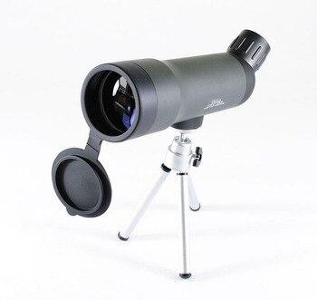 20x50 telescopio Mini telescopio Monocular Zoom Camping para caza óptica compacto de bolsillo tamaño lupa con trípode