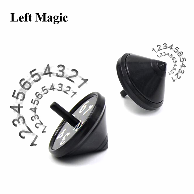 Top Prediction Magic Tricks propesy peg-top magic props size 4.4*4.1cm Close up illusion mentalism magic toy Accessories E3075(China)