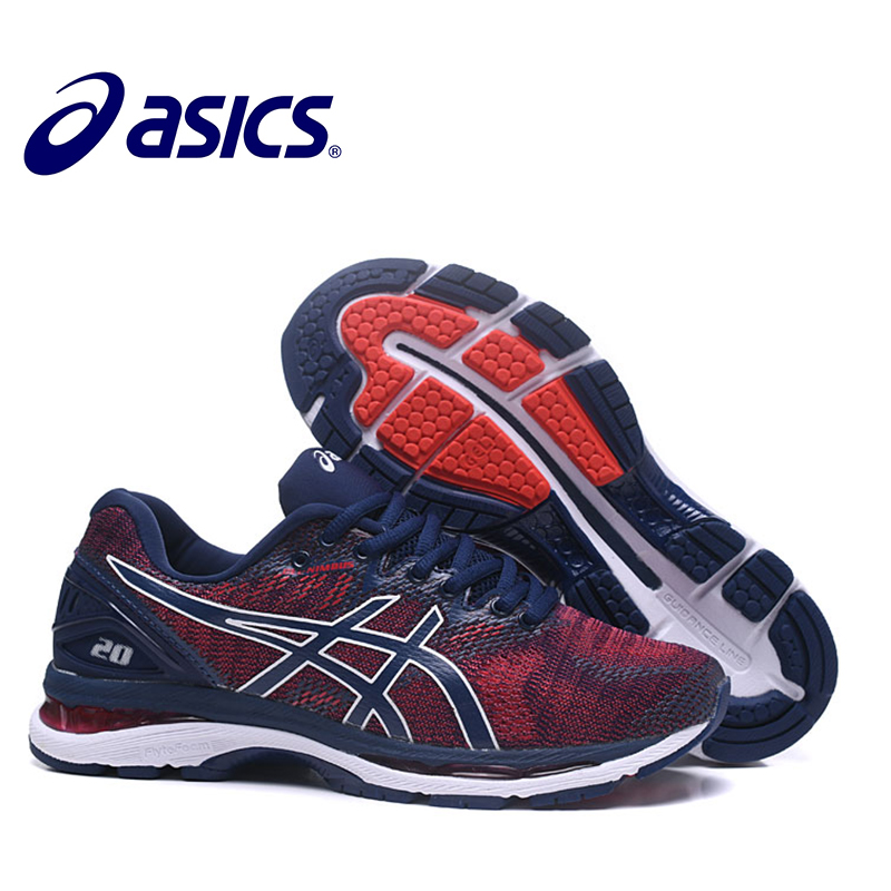 ASICS GEL-Nimbus 20 Men's Sneakers Outdoor Running Stability Shoes Asics Man's Running Shoes Hombre Breathable Sports Shoes