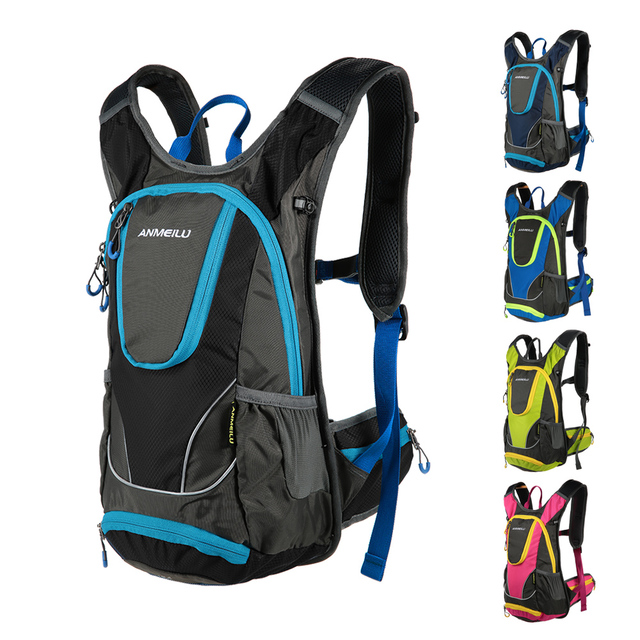 971a0481e7a2 ANMEILU 12L Bicycle Bag Backpack 5 Color Waterproof Cycling Bike Travel Hydration  Rucksack Water Bottle Bags