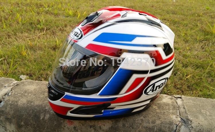 Moto moto Envio gratis casco DE casco ARAI casco DE casco integral DOT azul