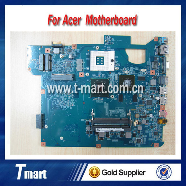 ФОТО 100% working Laptop Motherboard for ACER TJ65 MS2273 MBBDD01001 48.4BU04.01M System Board fully tested