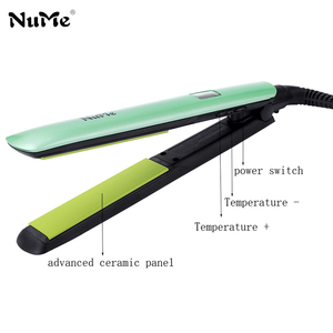 Image 4 - מקצועי LCD תצוגת שיער מחליק קרמי שטוח ברזל ברק טיפול שיער Curler קרלינג ברזל סטיילינג כלי עבור ברזיל