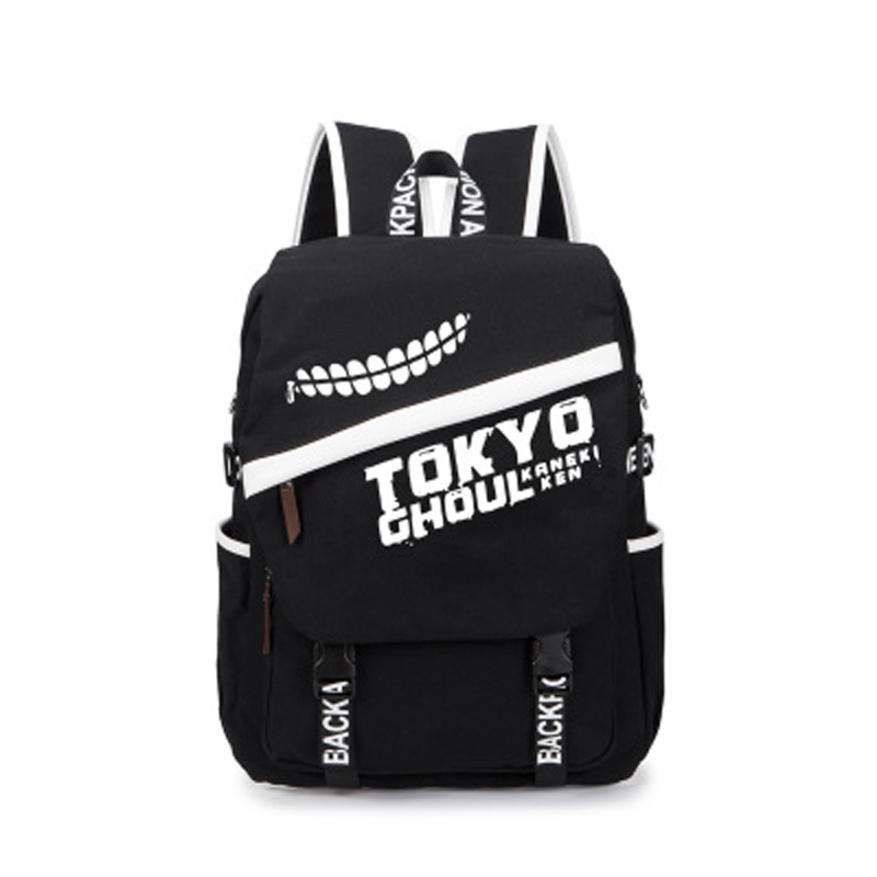 Anime Tokyo Ghoul Dark in light Luminous Satchel Backpack schoolbag Shoulder Bag Boys Gilrs Cosplay Gifts japan anime tokyo ghoul cosplay shoulders bag backpack cartoon schoolbag mochila unisex casual travel bags