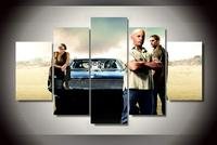 Unframed Combined Wall Art Picture Fast And Furious Movie Oil Painting By Numbers High Quality Home