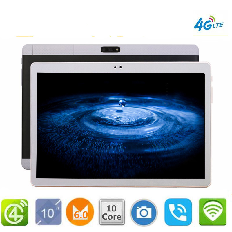 Free shipping K99 Tablt pcs GPS 10.1' Tablet Android 6.0 10 Core 128GB ROM 8MP Tablet PC 1920X1200 WIFI GPS bluetooth Google free shipping 3g tablt pc s gps 10 1 tablet android 7 0 octa core 32gb 64gb rom 8mp tablet pc 1920x1200 gps bluetooth google