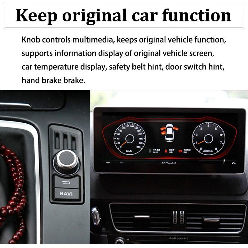 Liislee Car Multimedia Player NAVI 10.25 inch For Audi A4 B8 8K 2009~2016 Original Car MMI Style Radio Stereo GPS Navigation (3)